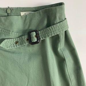 Anthropologie Skirts - Anthropologie Sitwell Green Aline Skirt Size 4